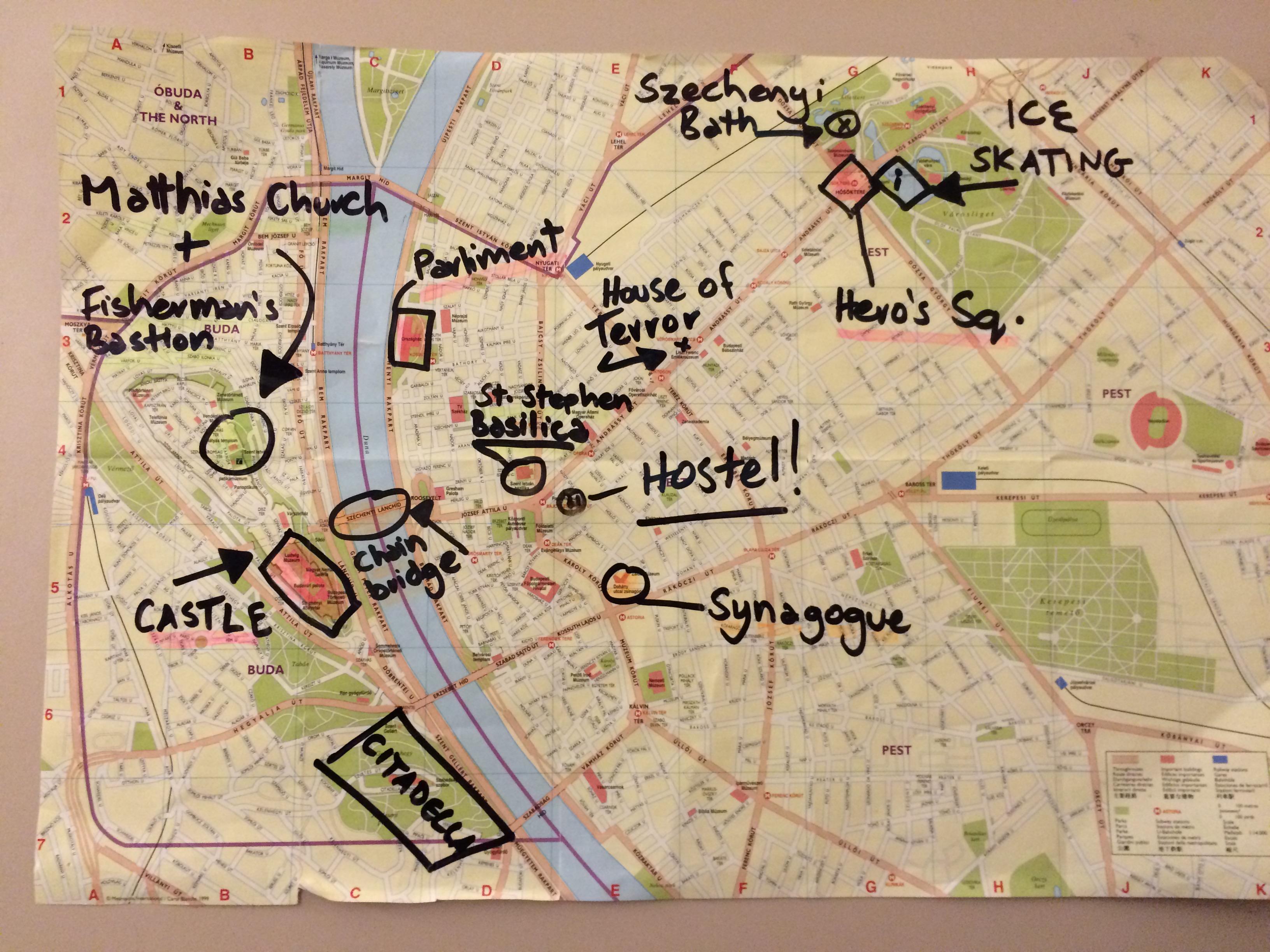 mapa de budapeste para imprimir Eurotrip Parte 5/7: Budapeste | Tô no Boteco! mapa de budapeste para imprimir